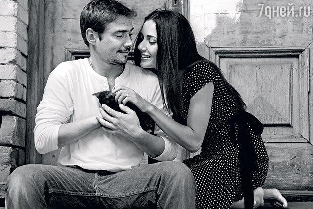 Денис Никифоров с женой Ириной