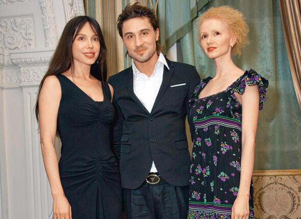 Дима Билан, Оксана Григорьева и ее сестра Наташа