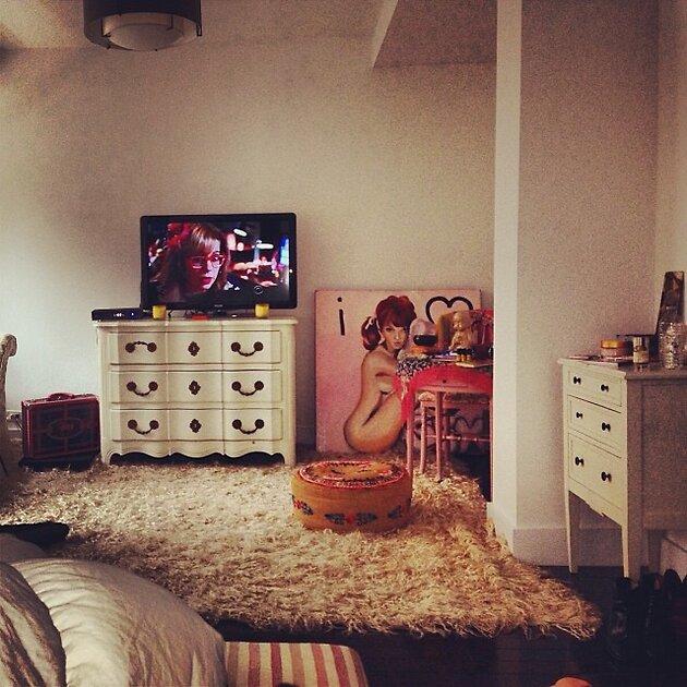Комната Линдси Лохан, октябрь 2013 год