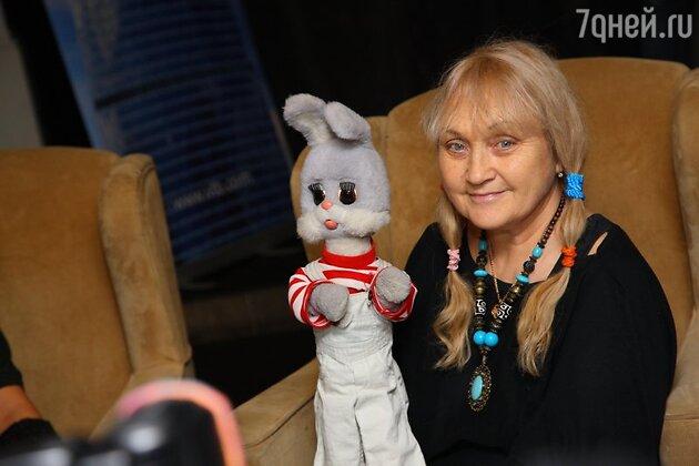 Наталья Голубенцева и Степашка