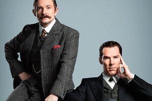 В Сети появились новый снимок и видео из четвертого сезона сериала «Шерлок»