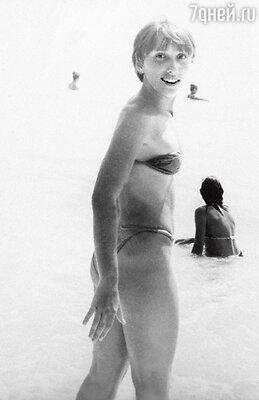 Впервые на море. Феодосия, 1980 г.