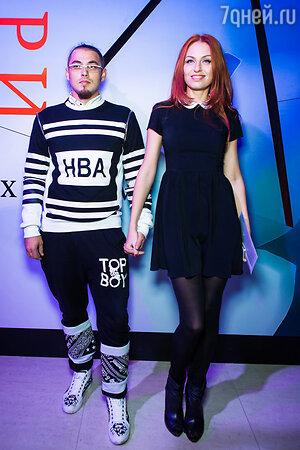 Ирина Забияка с супругом