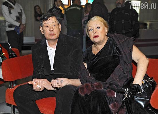 Актер Николай Караченцов и его супруга Людмила Поргина