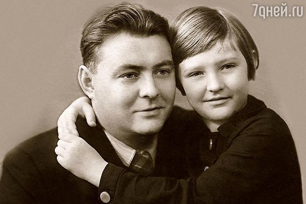 Виктория Софронова с отцом