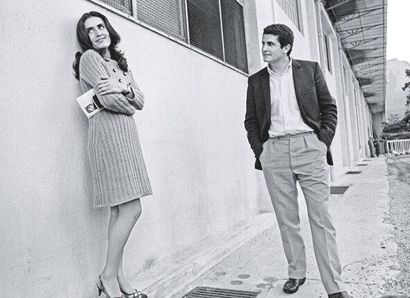 Кристин Коше стала первой официальной женой Лелуша в 1967 году