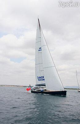 Официальная лодка бизнесс-регаты Shipman