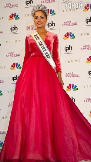 Мисс Вселенная-2012 Оливия Калпо