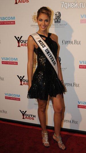 Мисс Вселенная-2008 Дайана Мендоса