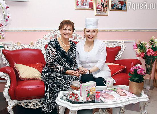 Татьяна Судец и Марият Мухина
