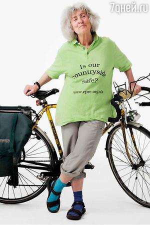 Марина Войханская, которая в 77 лет ездит на велосипеде по всей Европе