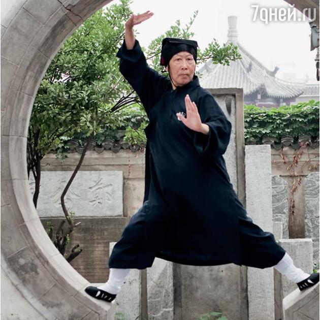 Пэй Юйфан, которая в 76 лет преподает ушу