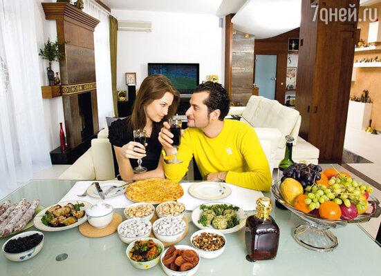 «Я избалован хорошей грузинской кухней, и мне трудно угодить. Но Софа справится, я не сомневаюсь»