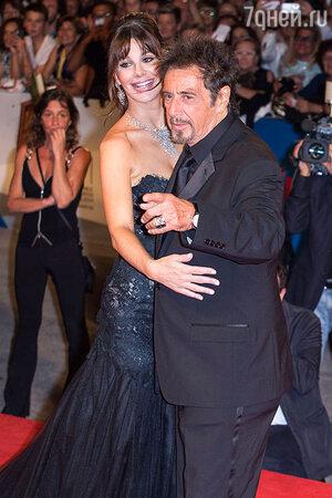 Аль Пачино и Лусила Полак