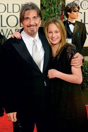 Аль Пачино с дочерью