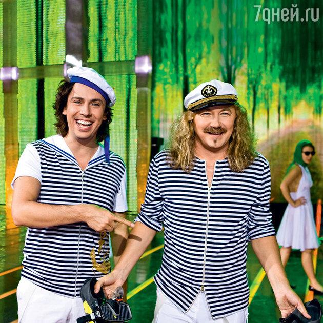 Максим Галкин и Игорь Николаев