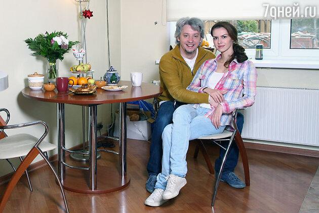 Лянка Грыу с мужем