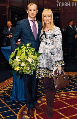 Олеся Судзиловская с другом Сергеем Дзебанем