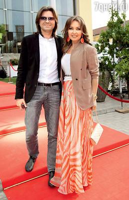 Дмитрий Маликов с женой Еленой