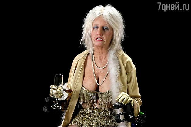 Кэти Перри в образе танцовщицы одного из казино Лас-Вегаса в отставке