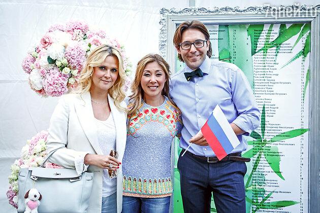 Анита Цой, Андрей Малахов и Наталья Шкулева