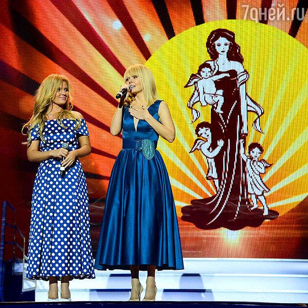 Валерия на конкурсе «Женщина России»