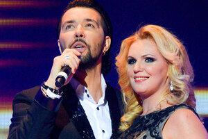 Денис Клявер спел с победительницей конкурса «Женщина России 2014»