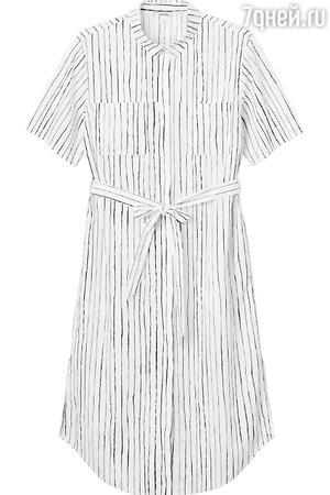 Платье-рубашка в Monki, 1500 рублей