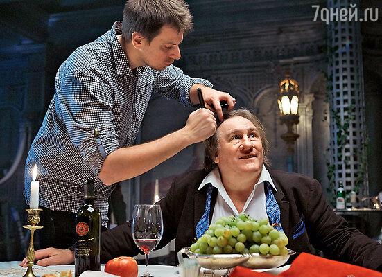 Жерар Депардье выступил впривычном для себя амплуа хозяина ресторана