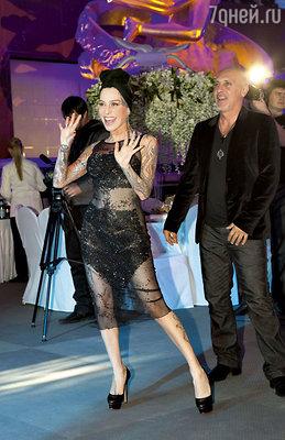 Певица Наргиз с мужем Филиппом Бальзано