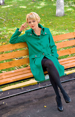 На Дарье пальто Laurel