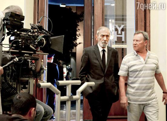 После длительного перерыва Вахтанг Кикабидзе снова снимается в российском кино