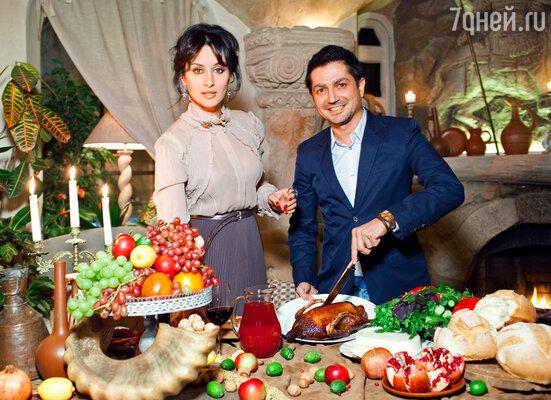 Тина Канделаки и Алексей Боков