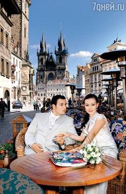 «Мы поженились в Праге — очень уж хотелось, чтобы свадьба была незабываемой»