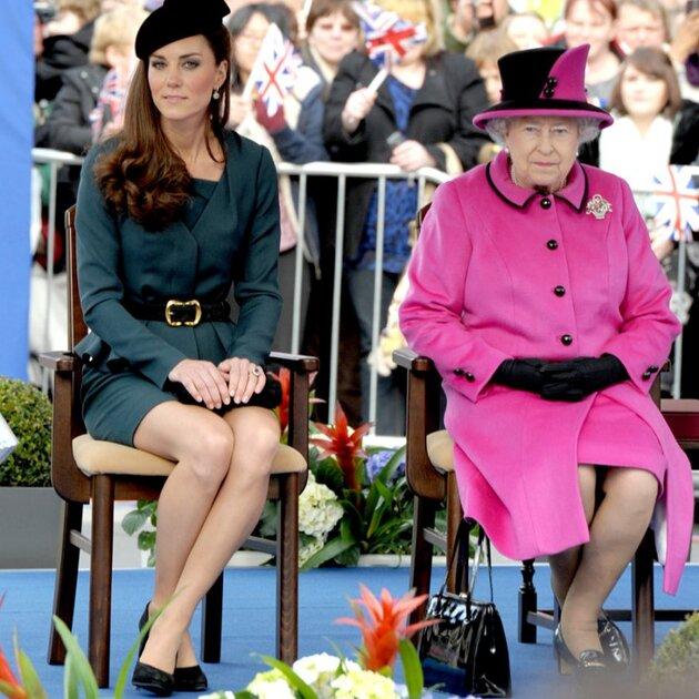 Кейт Миддлтон на праздничном мероприятии, организованном в честь юбилея Елизаветы II