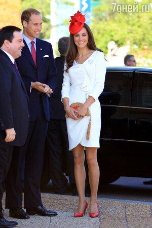 Кейт Миддлтон на своем первом официальном мероприятии в статусе супруги принца Уильяма