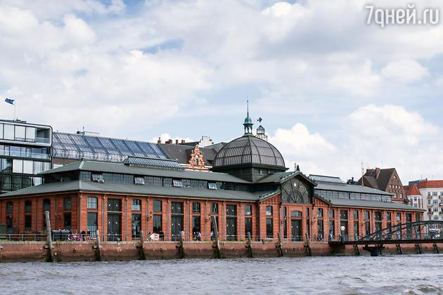 Fischmarkt — старейший Рыбный рынок Гамбурга