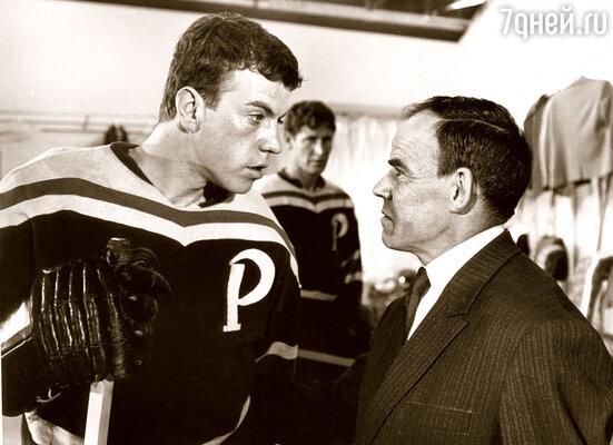 Кадр из фильма «Хоккеисты» (1964 г.)