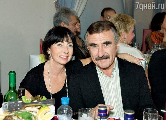 Леонид Каневский с женой Анной