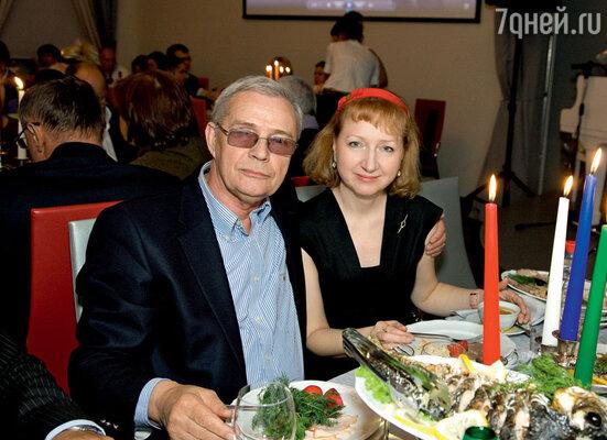 Лев Прыгунов с супругой Ольгой