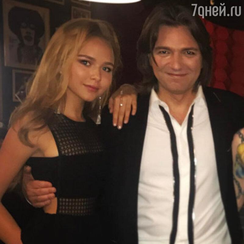 Дмитрий Маликов посетовал, что дочь ему очень дорого обходится