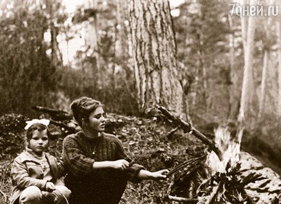 Екатерина Васильева с мамой