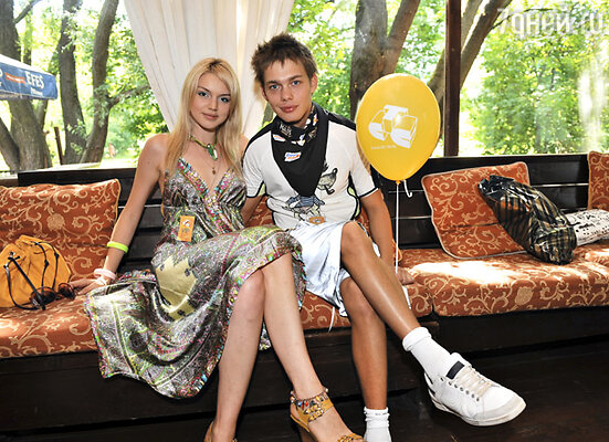 Аристарх Венес с девушкой Таней