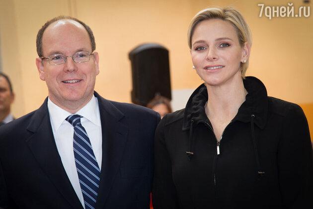 Принцесса Шарлен и принц Альберт