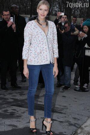 Елена Перминова в Chanel