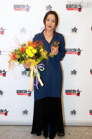 Севара  получила премию «Шансон Года-2014»