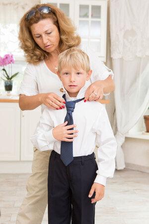 Жена Виктора Ракова Людмила с сыном Даней