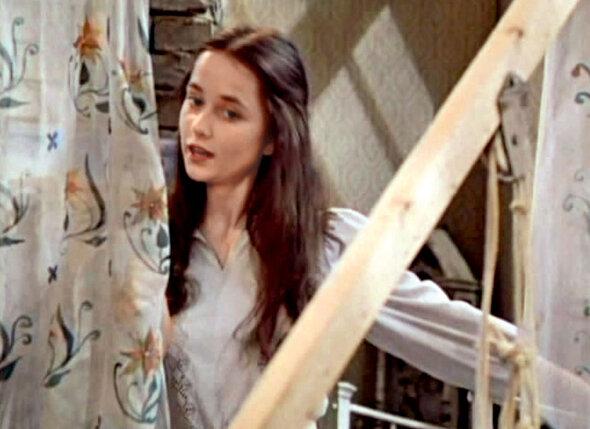 Тот самый взгляд... Ольга Кабо в фильме «Миллион в брачной корзине». 1986 г.