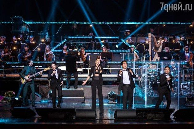 Сольный концерт группы A'Studio и Симфонического оркестра Алматы