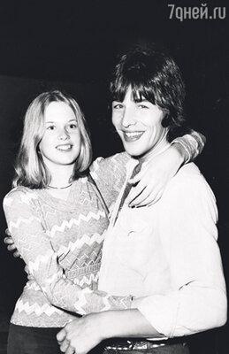 Мелани Гриффит с Доном Джонсоном. 1973 г.